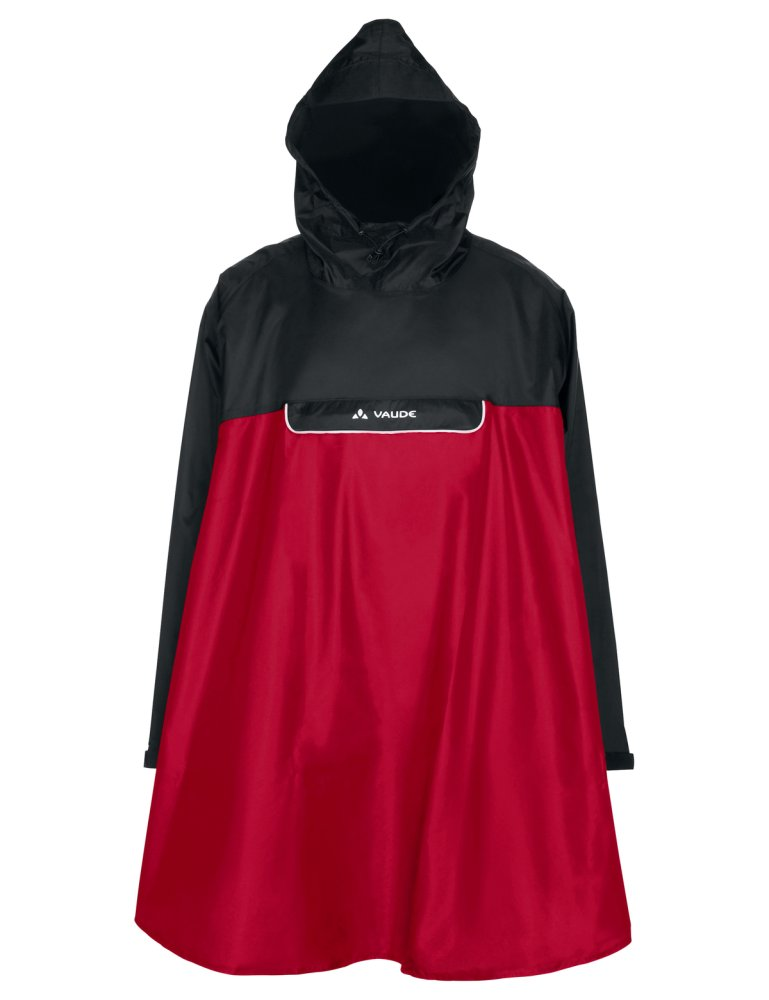 VAUDE Valero Poncho indian red Größ M